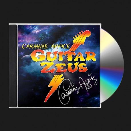 Guitar Zeus Autographed CD